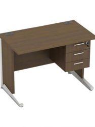 """""""Meja kantor utama Modera AOD 6012 (120cm) + 3 Laci gantung"""""""