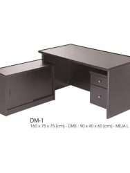 """Meja Kantor Direktur INDACHI DM-1"""