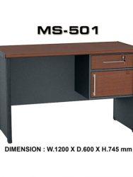 """Meja Kantor VIP MS 501"""