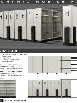 Mobile File Alba Mekanik MF AUM 2-04