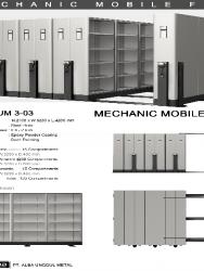 """""""Mobile File Alba Mekanik MF AUM 3-03"""""""