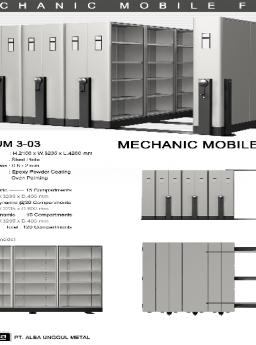 Mobile File Alba Mekanik MF AUM 3-03