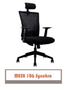 Kursi Kantor Carrera Type mesh 106 synchro