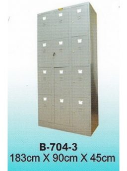 Locker Brother 12 Pintu B-704-3